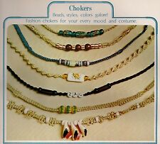 Braided Choker Patterns w/ Beads for Men & Women #7118 Symphony of Strings