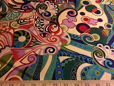 """Basha"" By  Alexander Henry Fabrics 100% Cotton quilting fabric 44""W By The Yard"