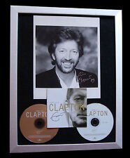 ERIC CLAPTON+SIGNED+FRAMED+TEARS+WONDERFUL=100% AUTHENTIC+EXPRESS GLOBAL SHIP