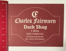 Aufkleber/Sticker: Charles Fairmorn Dark Shag - Pipe Tobacco (06041641)