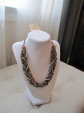 Women's G.H. Bass & Co. Pearl Statement Necklace - Brand New
