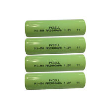 4pcs AA NiMH Rechargeable Battery 2000mAh 1.2V  For MP3 RC Toys Camera PKCELL