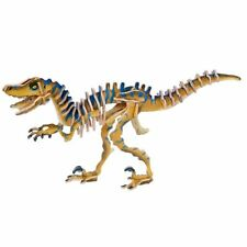 3d Velociraptor in Legno Dinosauro Puzzle Toy Boy Regalo Di Natale Natale Stocking Filler