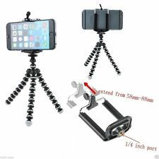 Mobile Tripod for Samsung, iPhone, Sony and all mobiles + Phone Holder Clip