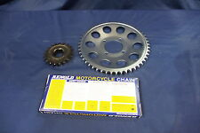 TRIUMPH T160  CHAIN AND SPROCKET KIT  50 TOOTH REAR AND 19 TOOTH GEARBOX