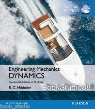 NEW Engineering Mechanics Dynamics 14E Hibbeler 14th Si Units Global Edition