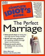 VG Complete Idiot's Guide to Perfect Marriage Newlyweds Engagement Love Advice