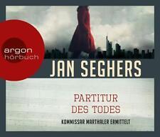 Seghers, Jan - Die Partitur des Todes (Hörbestseller) - CD
