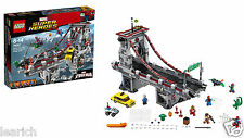 LEGO Super Heroes SpiderMan Web Warriors Ultimate Bridge Battle 76057 New Sealed