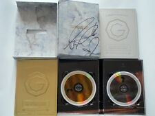 BIGBANG G-Dragon Autographed 2013 ONE OF A KIND vocal concert of Seoul 2DVD