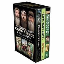 Duck Commander Collection 3 BOOKS Robertson Family Happy Happy Happy & Si-Cology