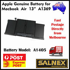 "Genuine Battery A1405 for Apple MacBook Air 13"" A1369  2011 Model & A1466 2012"