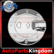 04-13 GMC Canyon Triple Chrome Gas Fuel Tank Door Cover truck pickup