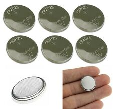 CR2025 Battery Lithium 3V Cell Coin Button CR2025 Batteries High Quality 6 Pack