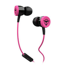 Tiësto Audiofly Clublife Paradise SingleDriver Isolating Earphones+mic Pink NEW