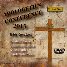 APOLOGETICS CONFERENCE, Learn how to Defend Your Faith Video. 2 DVD Set