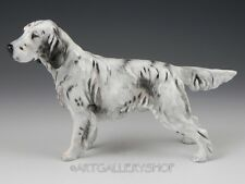 Vintage Royal Doulton England Figurine H.N. 1050 ENGLISH SETTER HUNTING DOG Rare