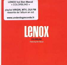 LENOX - rare CD Single - France - Acetate