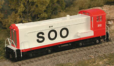 BOWSER 23762 HO DS 4-4-1000 Soo Line SWITCHER DCC Ready 312 -NEW - SPECIAL
