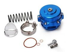 UNIVERSAL 50MM BLUE MONSTER BLOW OFF VALVE BOV TIAL STYLE WITH FLANGE