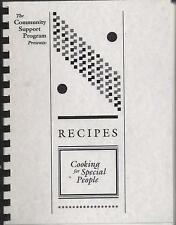 *MARSHALLTOWN IA 1992 MENTAL HEALTH CENTER OF MID-IOWA EMPLOYEES COOK BOOK *RARE