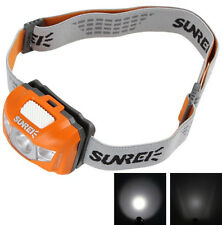 Sunree Youdo 2S Waterproof 3 x LEDs Adjustable Headlamp for Camping / Hiking