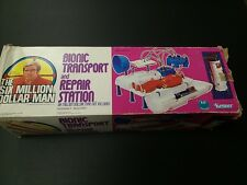 1975 Kenner BIONIC TRANSPORT & REPAIR STATION w/Box (The Six Million Dollar Man)