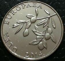 20 lipa 2014 - Croatia coin - Hrvatska - Nickel  plated Steel !