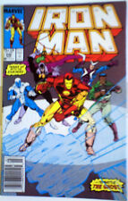 Iron Man 240 Marvel Comic NM- GUICE LAYTON art! Mar 1989 modern age; MORE LISTED