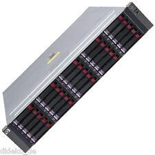 """HP StorageWorks MSA70 25x 2,5"""" Festplattenschächte 1xSAS + SATA I/0 Modul 2xPSU"""
