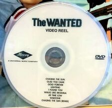 The Wanted 9 music videos DVD (not CD) Glad you came Warzone Chasing the sun +