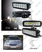 6 LED FOG LIGHT/WORK LIGHT BAR SLEEK FOR COROLLA OLD SET OF 2