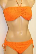 NWT Ralph Lauren Swimwear Bikini  2pc Set Size M L Orange