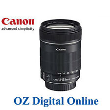 New Canon EF-S 18-135mm f/3.5-5.6 IS lens 1 Year Au Wty