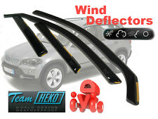 BMW X5 E53 2000-2006 5 Doors Wind Deflectors 4 pcs HEKO (11136)