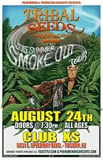 "TRIBAL SEEDS/THE EXPANDERS ""2015 SUMMER SMOKE OUT TOUR"" TUCSON CONCERT POSTER"
