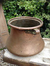 French Vintage Copper Bell Cauldron
