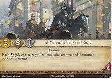 A Tourney for the King AGoT LCG 2.0 Game of Thrones The King's Peace 59