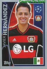332 JAVIER HERNANDEZ MEXICO BAYER LEVERKUSEN STICKER CHAMPIONS LEAGUE 2016 TOPPS