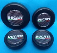 DUCATI  MULTISTRADA 1200 AXLE WHEEL SPINDLE PLUGS BUNGS  front & rear sets