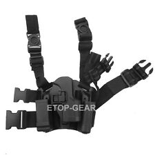 Tactical Serpa Right Leg Paddle Belt Thigh Pistol Holster For H&K USP Compact