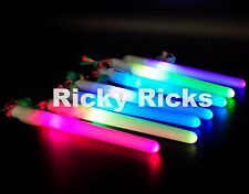 12 Magic Wands Light-Up Sticks Flashing Lanyard LED Glow Blinking Rave Party EDC