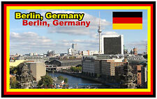 BERLIN, GERMANY - SOUVENIR NOVELTY FRIDGE MAGNET -  BRAND NEW - GIFT