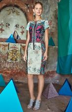 NWT SZ 0P ANTHROPOLOGIE $268 PIECED BROCADE DRESS BY BYRON LARS RARE BEAUTY!