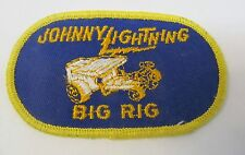 vintage Topper Johnny Lightning BIG RIG Rally Patch  unused mint