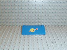 LEGO 3939p91 Bedr. pietra Space 33 3x6 Blu Classic Space Space logo piccolo r622