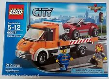 LEGO - CITY - FLATBED TRUCK - #60017 - 212 PCS - 2 MINI FIGURES - BNIP - SEALED!
