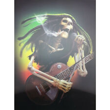 Skull Music Stars Lenticular 3D Picture Poster Painting Home Wall Art Decor
