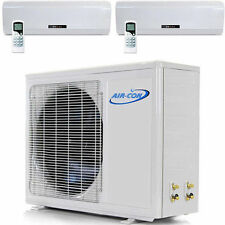 2 TON Multi Ductless Mini Split Heat Pump 24000 3 X 9000 Mitsubishi Compressor