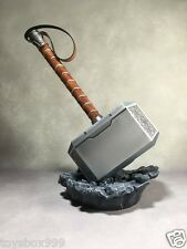 Lager Toys Full Metal Avengers Thor Hammer 1/1 Size Thor Mjolnir Hammer Light Up